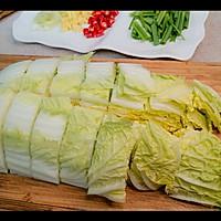 猪肉白菜炖粉条的做法图解3