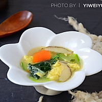 比肯德基还好吃的时蔬芙蓉汤#柏翠辅食节-营养佐餐#