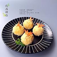凤尾虾球烤箱版的做法图解10