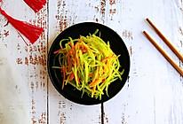 #憋在家里吃什么#香拌莴笋胡萝卜丝的做法