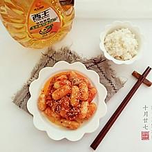 辣白菜炒芝士年糕#西王领鲜好滋味#