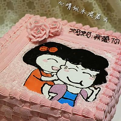 爱之旋律奶油蛋糕--让人幸福感倍增的一款蛋糕