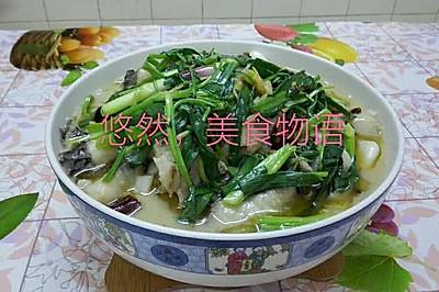 麻辣酸菜鱼片