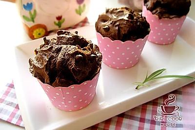 【巧克力玛芬】#长帝烘焙节#