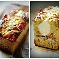 油无糖的法式咸味磅蛋糕