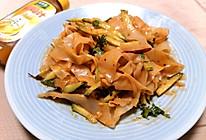 #太太乐鲜鸡汁玩转健康快手菜#鸡汁凉皮的做法