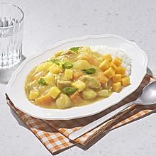 夏日芒果鸡肉咖喱饭