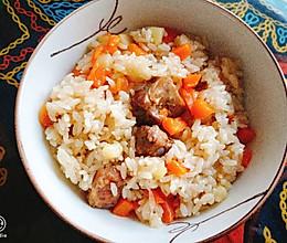 排骨土豆胡萝卜闷饭的做法