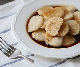 年夜饭自制红糖年糕(糯米粉+粘米粉,厨师机版)的做法
