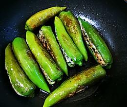 酿青椒的做法