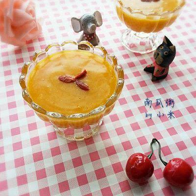 南瓜粥(韩国烤肉店的甜品)