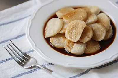 年夜饭自制红糖年糕(糯米粉+粘米粉,厨师机版)
