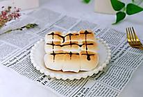 #春季减肥,边吃边瘦#香蕉棉花糖吐司的做法