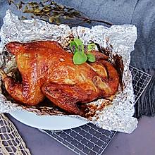 #全电厨王料理挑战赛热力开战!# 空气炸锅版烤鸡