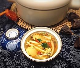 滋补菌菇汤的做法