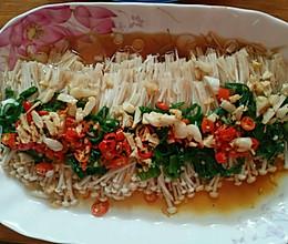 红红火火金针蘑的做法