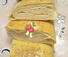 烤箱版葱香发面饼的做法