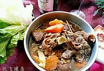 补而不燥滴羊肉火锅的做法