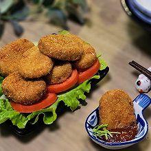 日式土豆泥可乐饼,藏在厨房的美味#人人能开小吃店#