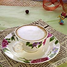 卡布奇诺咖啡#雀巢营养早餐#