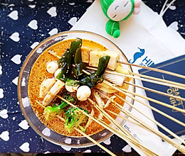 #快手又营养,我家的冬日必备菜品#街头小吃~钵钵鸡的做法