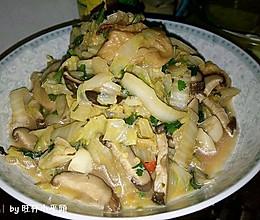 白菜油面筋的做法