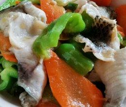 清炒鱼片的做法