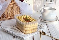 #洗手作羹汤#豆乳盒子蛋糕的做法