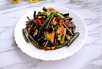 菜苔炒肉的做法