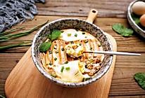 肉沫豆腐抱蛋的做法
