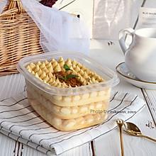 #洗手作羹汤#豆乳盒子蛋糕
