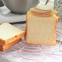 #福气年夜菜#超软的酸奶奶油吐司,细腻拉丝巨好吃