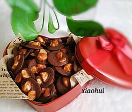 网红-巧克力脆脆-坚果脆脆的做法