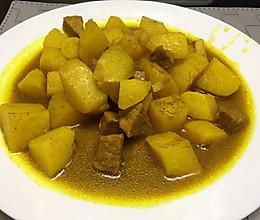 独家秘制:咖喱土豆炖牛肉的做法