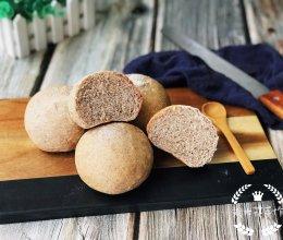 #晒出你的团圆大餐#低脂褐麦小面包的做法