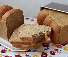 #一人一道拿手菜#  纯全麦吐司 100%全麦的做法