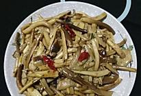 孜然茶树菇的做法