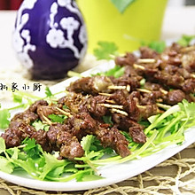 烤牙签羊肉(家庭烤箱版)【Mosquito私家小厨】