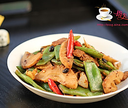 【膳食】豆豉刀豆肉片的做法