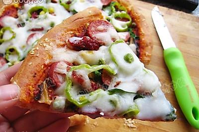 椰香馕披萨