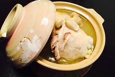 四季都补的蒜头鸡汤~简易版~
