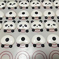 熊猫马卡龙#我的烘焙不将就#的做法图解11
