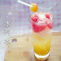 ♡西瓜水果♡-冰汽水的做法图解3
