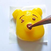 可爱的小熊南瓜糯米糕的做法图解6