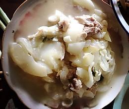 老黄瓜炒肉的做法