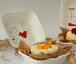 搞怪手绘蛋糕盒子的做法
