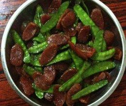 家常 荷兰豆炒腊肉的做法