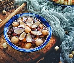 红豆莲子百合汤的做法