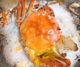 盐焗大闸蟹️的做法