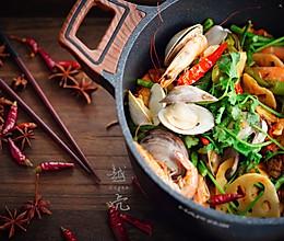 让你口水直流的麻辣干锅的做法